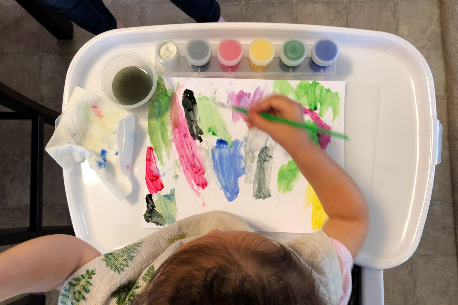 Painting Like A Kid