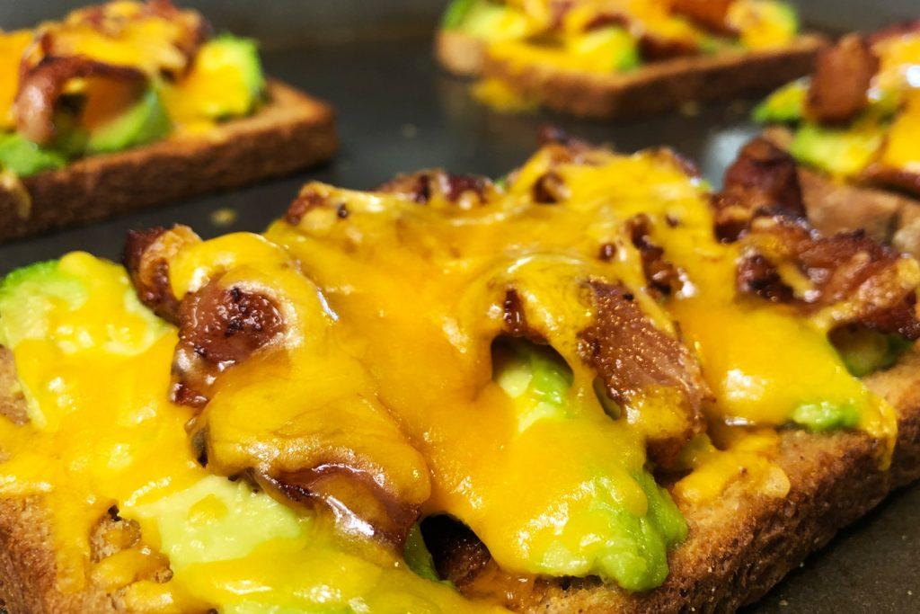 Bacon Avocado Toast